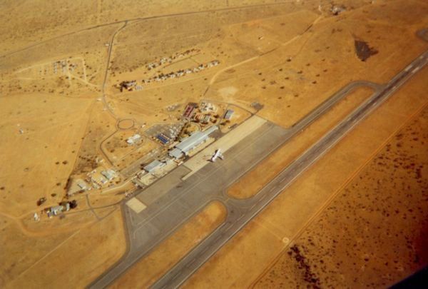Hosea Kutako International Airport (Airport Code WDH), located 28 miles (45 kilometers) east of the city of Windhoek, capital of Namibia.